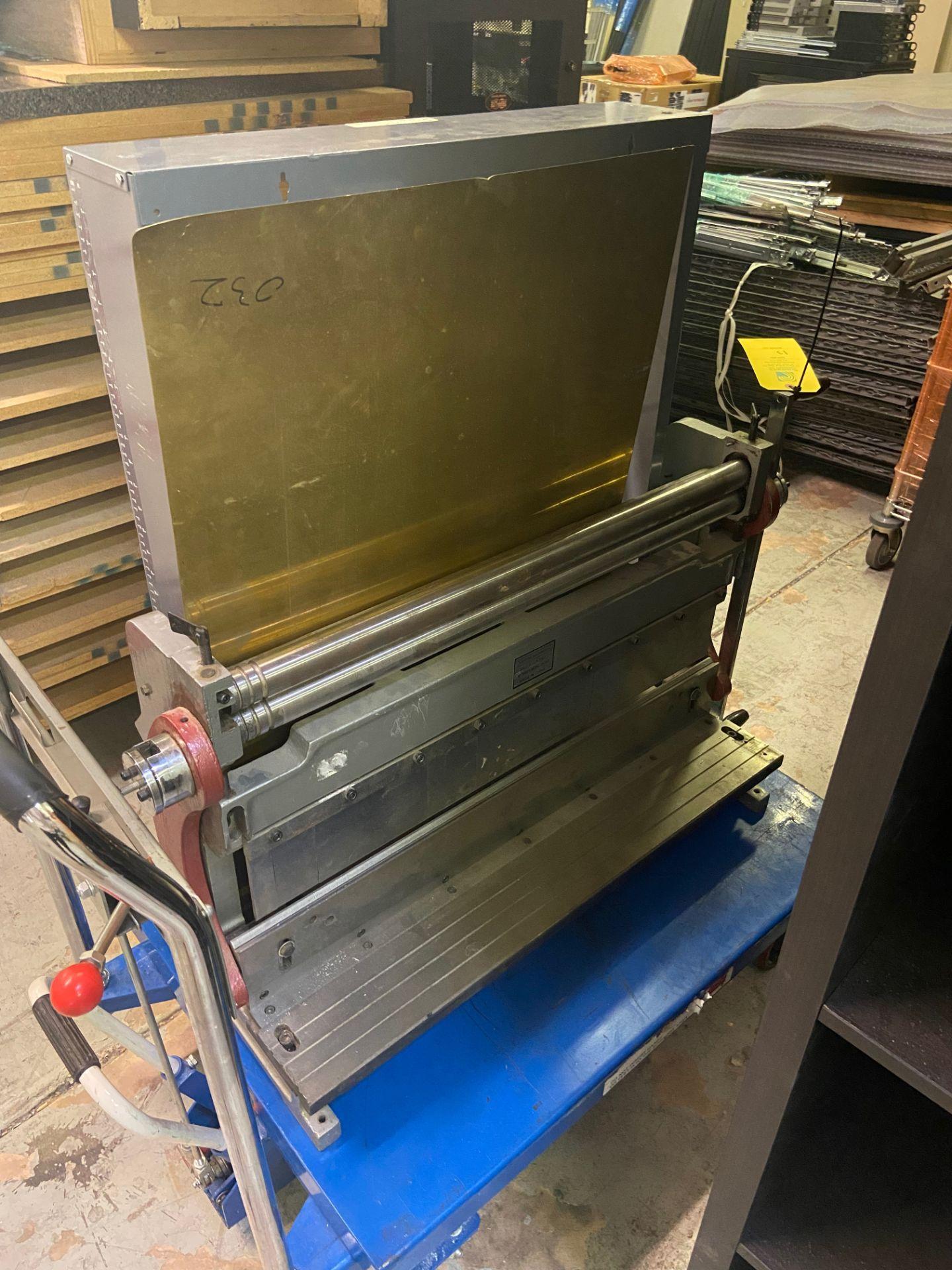 Durham Sheet Metal Brake/Bender, Model# WSR-4, Loading/Removal Fee: $20