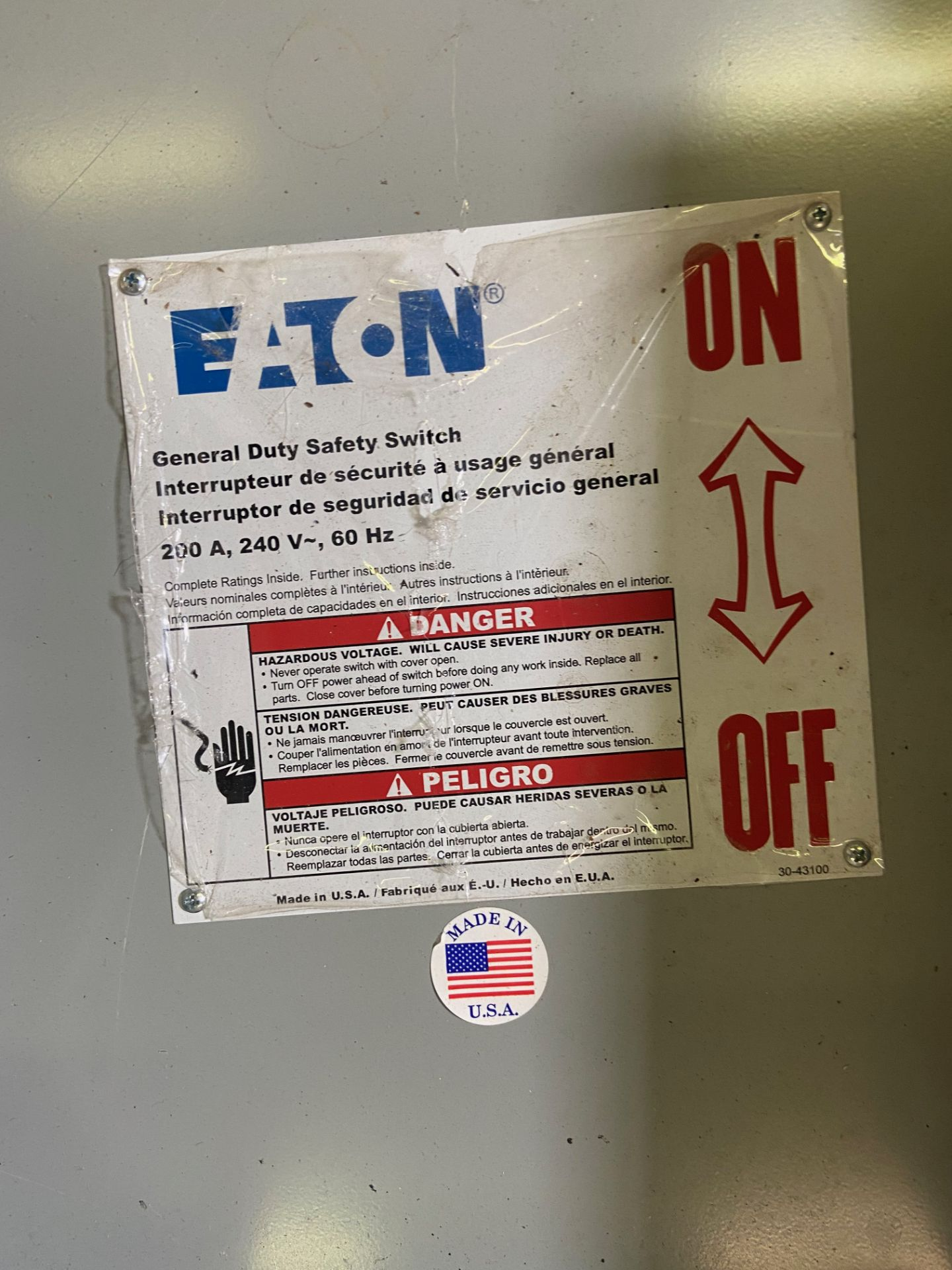 Pallet of Electrical Components, Includes: (SEE PHOTOS FOR ALL INCLUDED) Eaton Heavy Duty Safety - Image 6 of 19