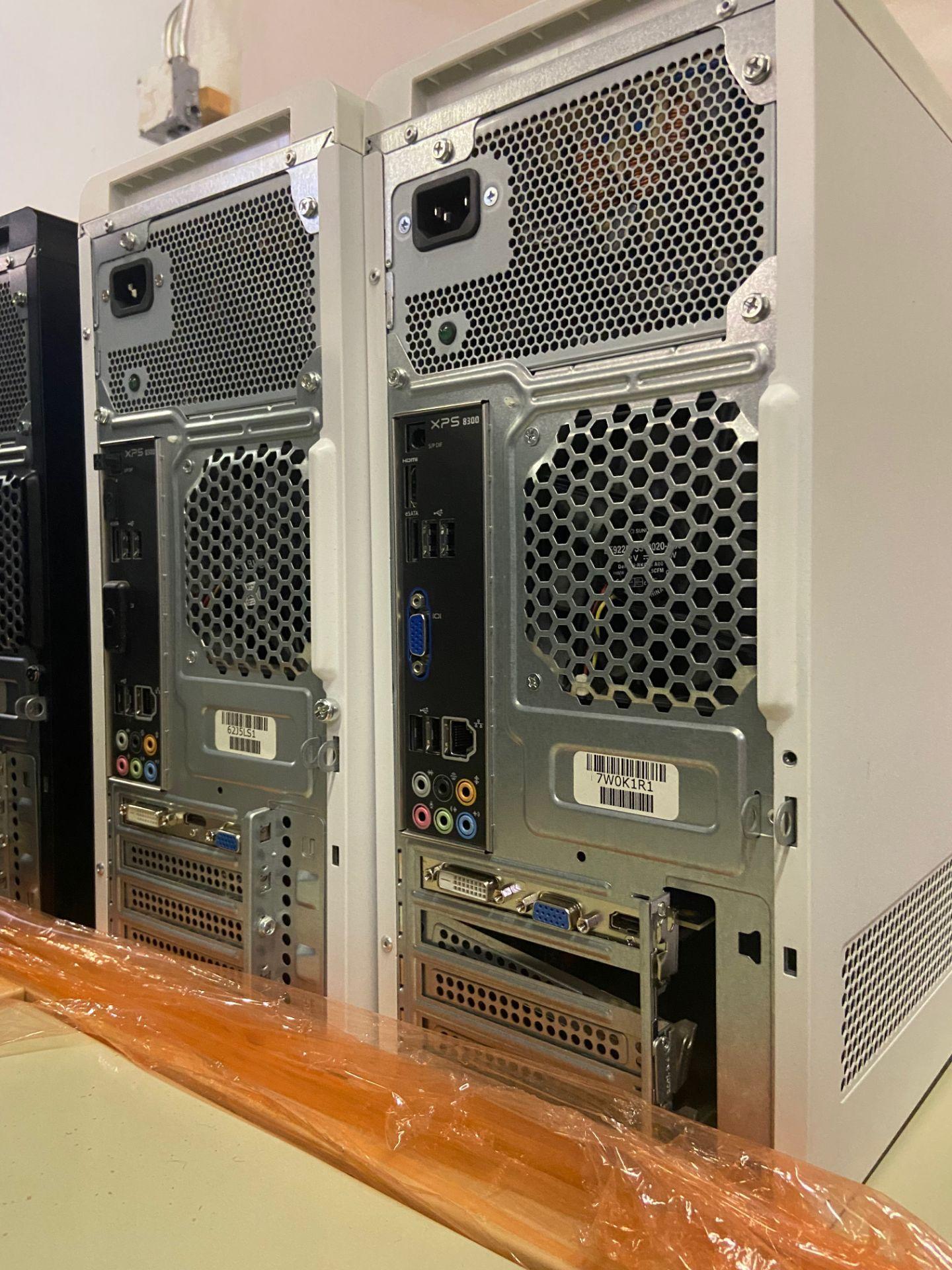 Dell XPS Desktop Computers, Total Qty 4, Qty 3 Intel i7 Processor, Qty 1 Intel i5 Processor, - Image 2 of 3