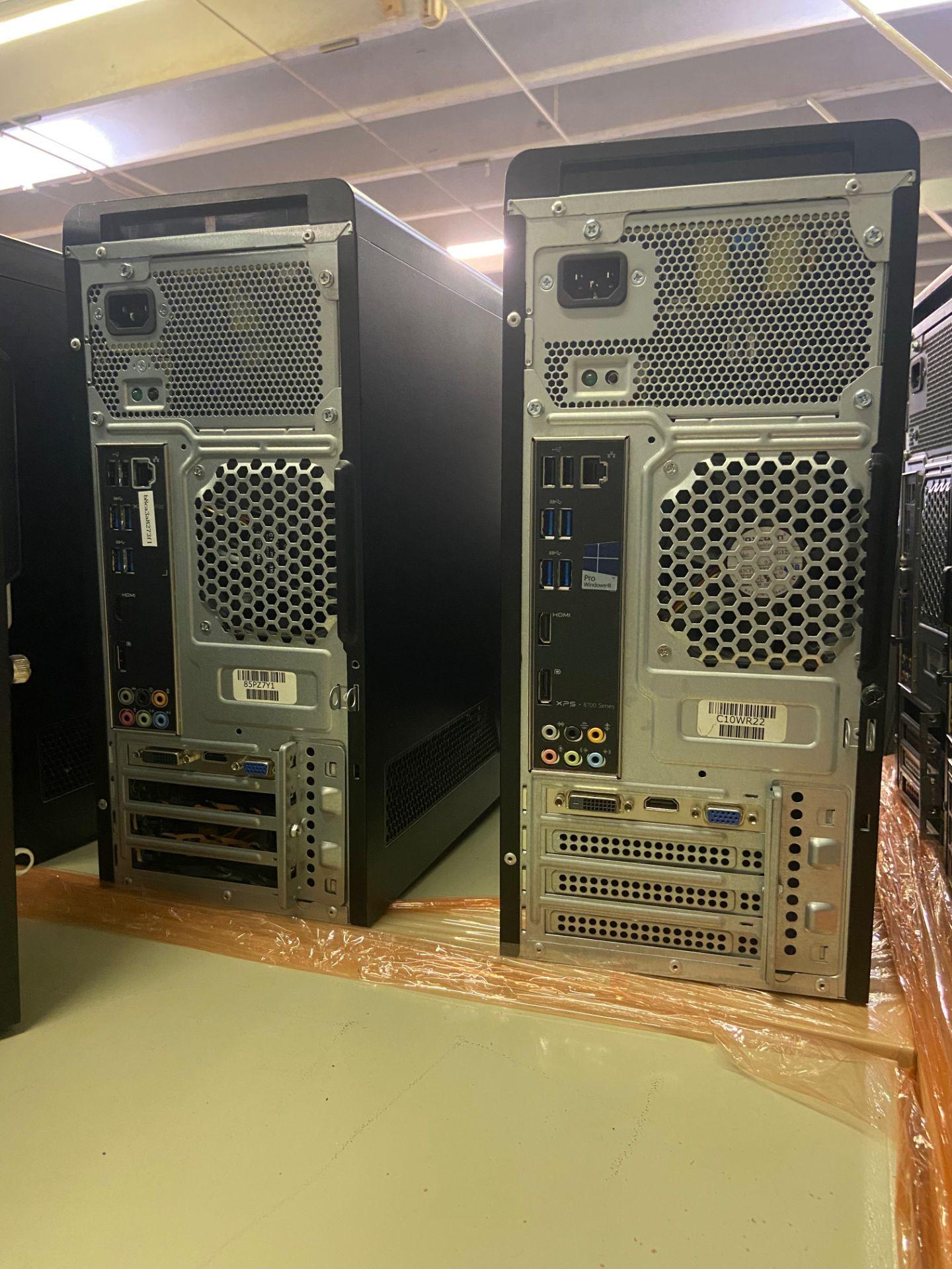 Dell XPS Desktop Computers, Total Qty 4, Qty 3 Intel i5 Processor, Qty 1 Intel i7 Processor, - Image 2 of 3
