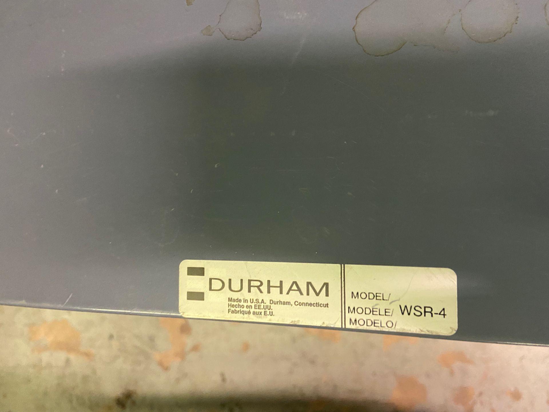Durham Sheet Metal Brake/Bender, Model# WSR-4, Loading/Removal Fee: $20 - Image 4 of 5