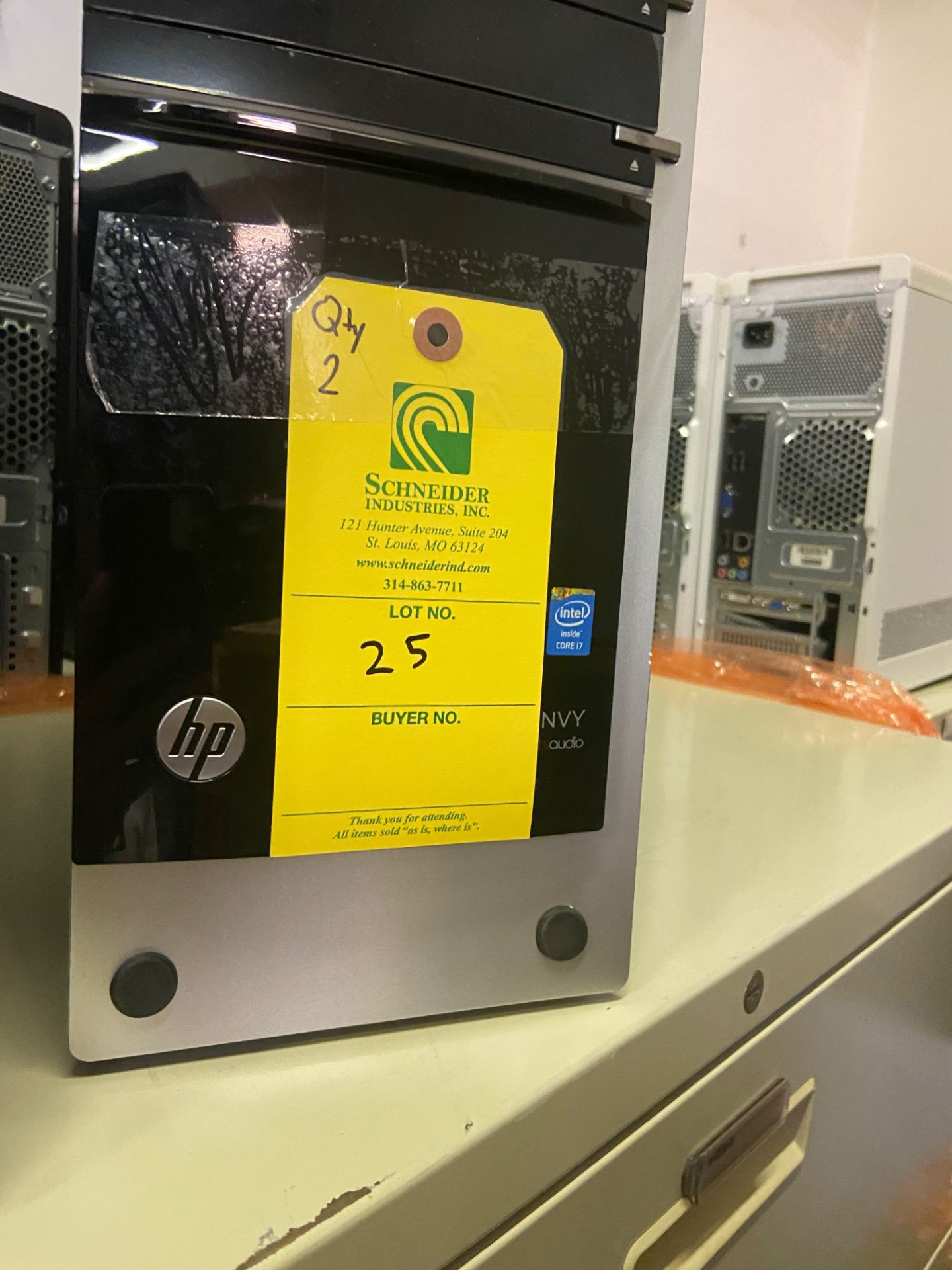 Dell Envy Desktop Computers, Qty 2, Intel i7 Processors, Loading/Removal Fee: $20 - Image 3 of 3