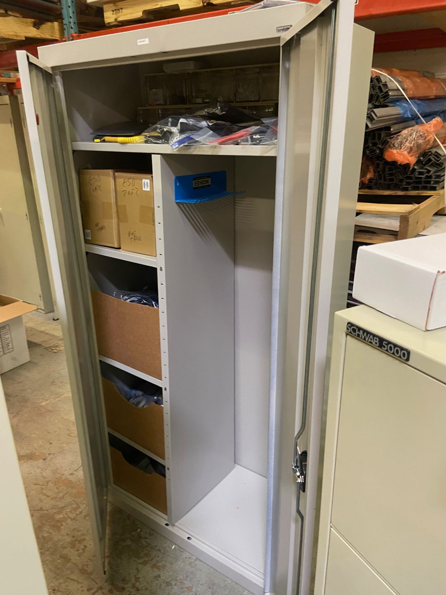 Cabinet and Contents (See Photos), Rigging Fee: $50 - Image 2 of 10