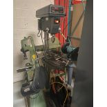 "Sears/Craftsman 17"" Drill Press, 5/8"" Chuck, 200-3630 RPM, Model# 113.213171, Serial# 961870038,"