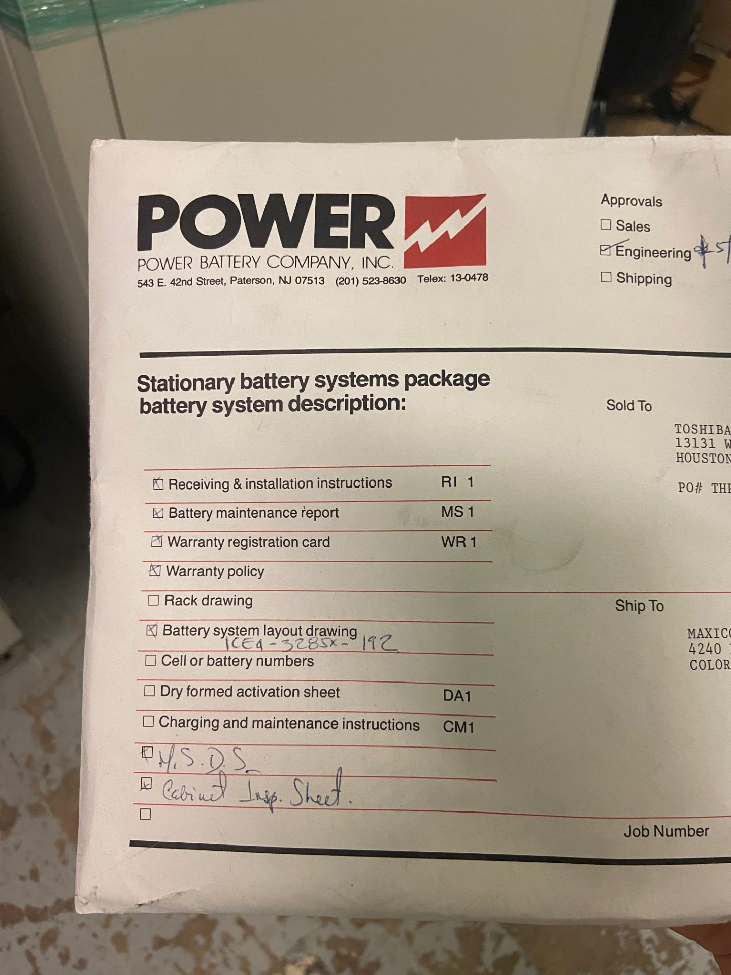Mitsubishi Uninterruptible Power Supply, 2033A Series, Type UP2033A-B403SU-2, Serial# 96-GC8YQI-04, - Image 4 of 6