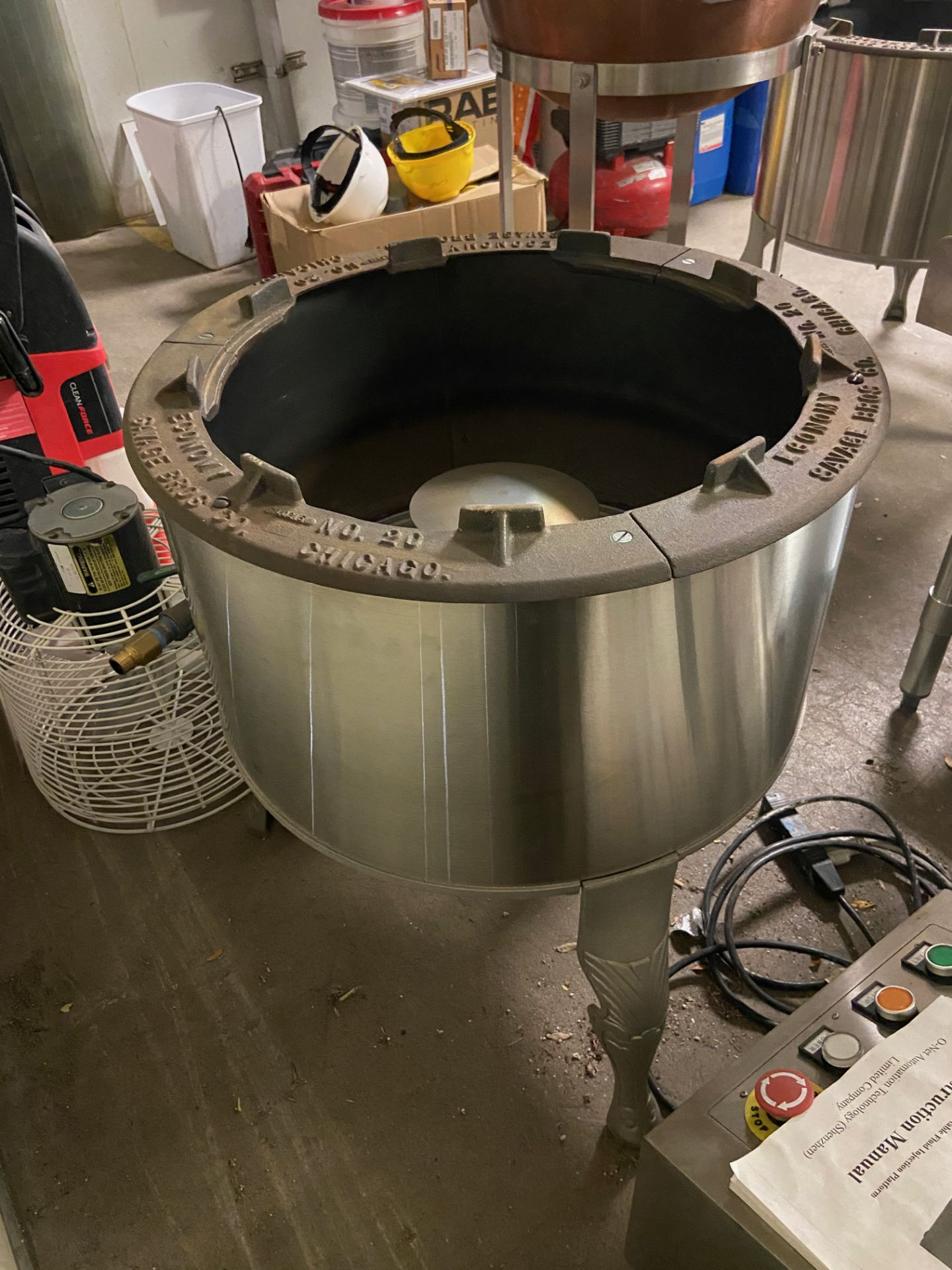 NEW Savage Bros Gas Candy Stove, Model# 20B, Serial# 024376, 80,000 BTU/HR - Image 5 of 6