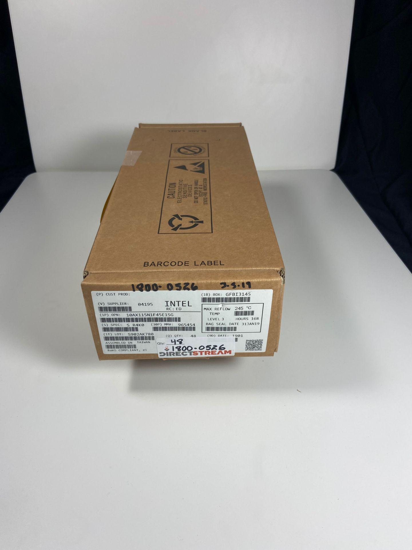 Intel 10AX115N1F45E1SG, QTY 48, FPGA Arria 10 GX Family 1150000 Cells 20nm Technology 0. - Image 2 of 4