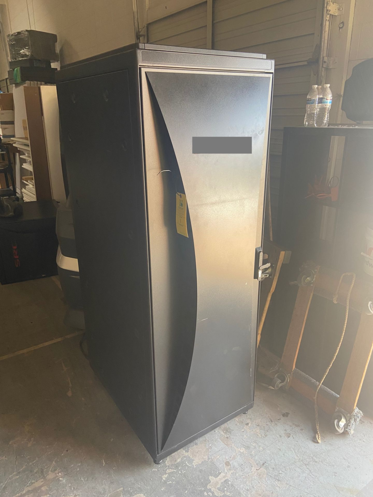 """Network Server Data Rack Enclosure Cabinet, 2' Wide x 33"""" Deep x 69"""" Tall, Loading/Removal Fee: $20 - Image 2 of 7"""