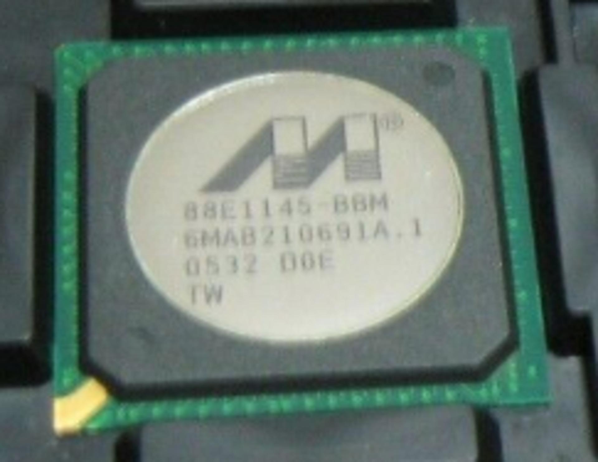 Alaska Quad Gigabit Ethernet Transceiver 88E1145 ,IC, 4-port Gigabit, 2.5V SSTL_2 (LF), QTY 1