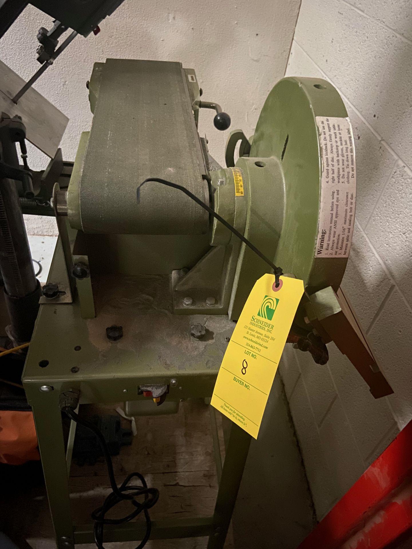 Belt and Disc Sander, Loading/Removal Fee: $25 - Image 3 of 5