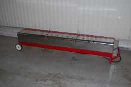 Hot box PVC pipe bender mod 500 by Gardner BHB560 model 230 V 5500 watt for 1/2 inch to 6 inch
