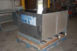 Chiller Mfg water chiller 1/3 HP 3 ton 220 volt 3 phase RC 3 38000 BTU/hr R 22 48 x 37 x 29 inch