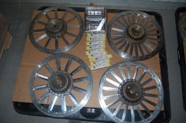 Urschel translicer hubs and blades Assorted 9 boxes new 55280 blades- 7 boxes 55100 new blades 4