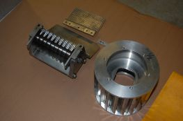 Urschel sprint 1/2 inch crossknife spindle assembly and circular spindle support assembly stripper
