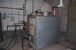 Ajax natural gas boiler 15 PSI steam S# 35807 ***LOADING FEE OF: $ 800 will be added to the