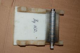 Urschel sprint 1/4 cross cut assembly HD circular blade spindle stripper plate and knife blade ***