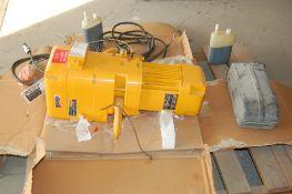 2 ton Harrington chain hoist 10 ft lift new in box …. Never used Model # NER020LD s#358506 size