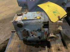 Waukesha Pump Model 015 S/N 1000002308119 Pump Only No Motor RIGGING/LOADING FEE - $50