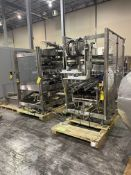 DOUGLAS AXIOM CASEPACKER WITH NORDSON GLUEPOT AND BUSH VACCUUM PUMP AND CONTROL PANEL RIGGING/LOAD