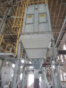 Dustex dust collector; rated 10,000 cfm; pulse jet cleaning system; 40Hp premium efficiency