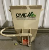 Located in Canon City, CO: NEW/Uused Colorado Mill Equipment BSM Bag Scale, rated at up to 12