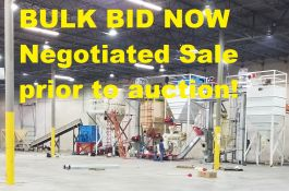 Dallas TX: 2017 Wood Pellet Line BULK , Available Prior to Auction as complete Call Schneider