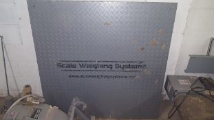 Flint, MI Scale Weighing Systems Industrial Scale. NOTE FROM SELLER: Lot was in good working order
