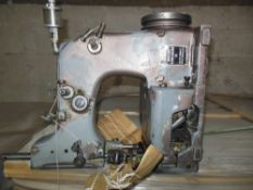 Florence, CO Lot of (3) Union Special bag closing machine/sewing machine heads; belt-driven,