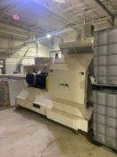 Located in NC: HMX400 Hammermill with a 460V 200 HP motor. This was rated to mill approximately
