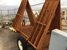 Tulsa, OK: Portable Truck Bottom Unloader, Baasch & Sons Inc, Dual Augers with 5 HP Motors, 230 VAC,