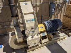 2019 CME Hammer-Mill, Model: HMA50, w/ 50HP motor, with built in blower, new cost $24,500. NOTE FROM