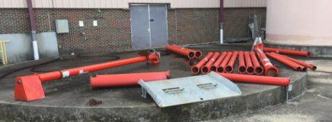 Tulsa, OK: Lot of Augers: Augers, Various Sizes 2 Each 4 Inch Diameter 10 Feet Length with Drive