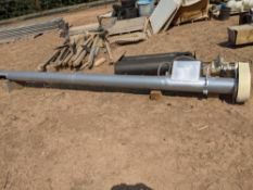 Lot of (2) auger conveyors Size: 15 ft 6 in. -- NOTE FROM SELLER: One still in the crate, never been