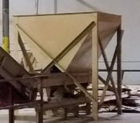 Dallas, TX Bulktech Raw material bulk bin, new approx 2017 (lot does not include vibratory