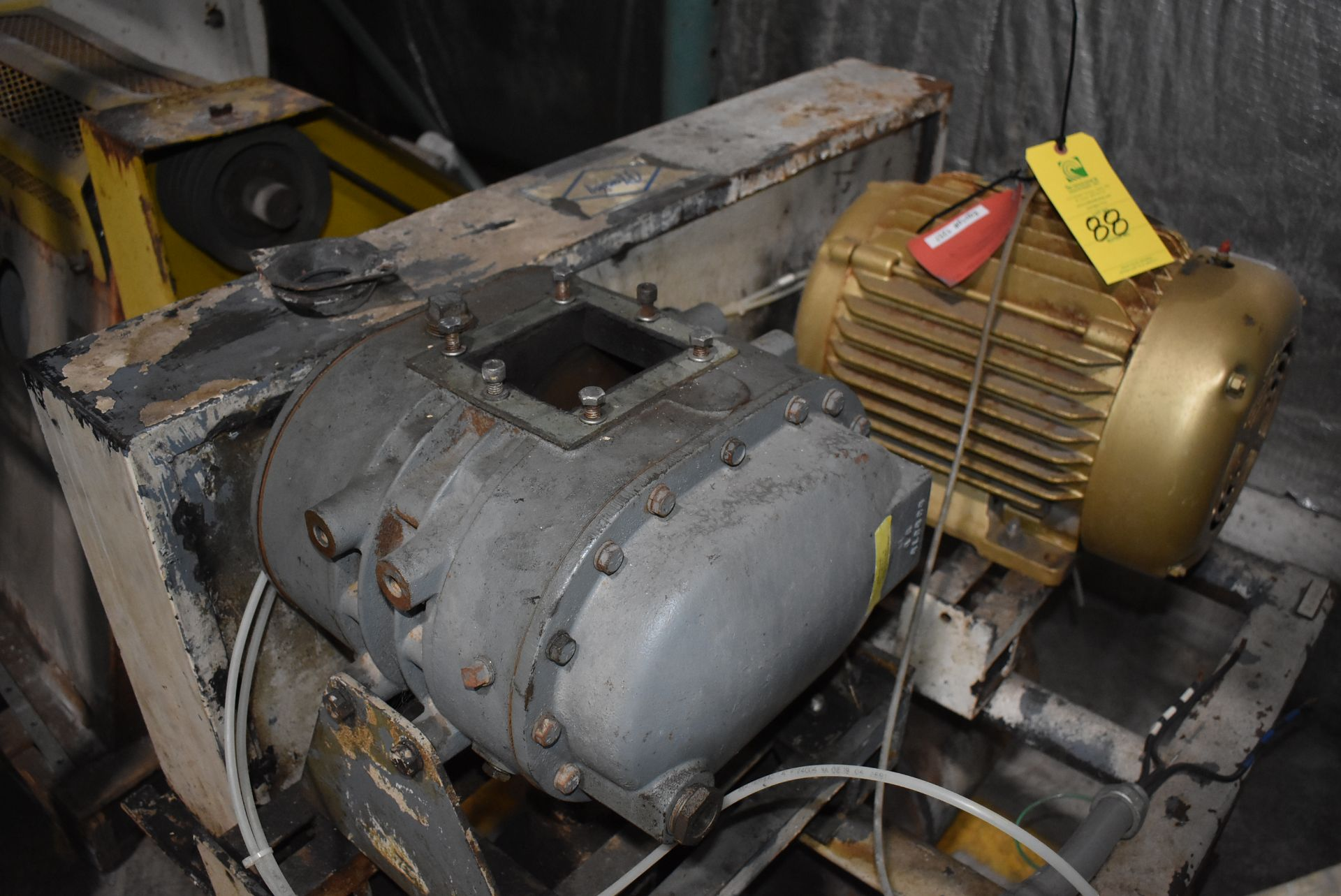 Duraflo Model #4504 Blower Package w/Baldor 15 HP Motor