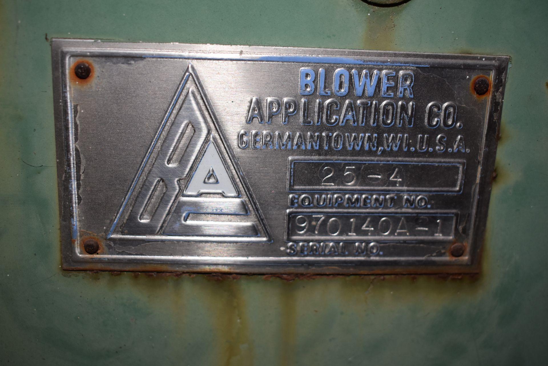Application Company Model #25-4 Blower w/10 HP Motor - Image 2 of 3