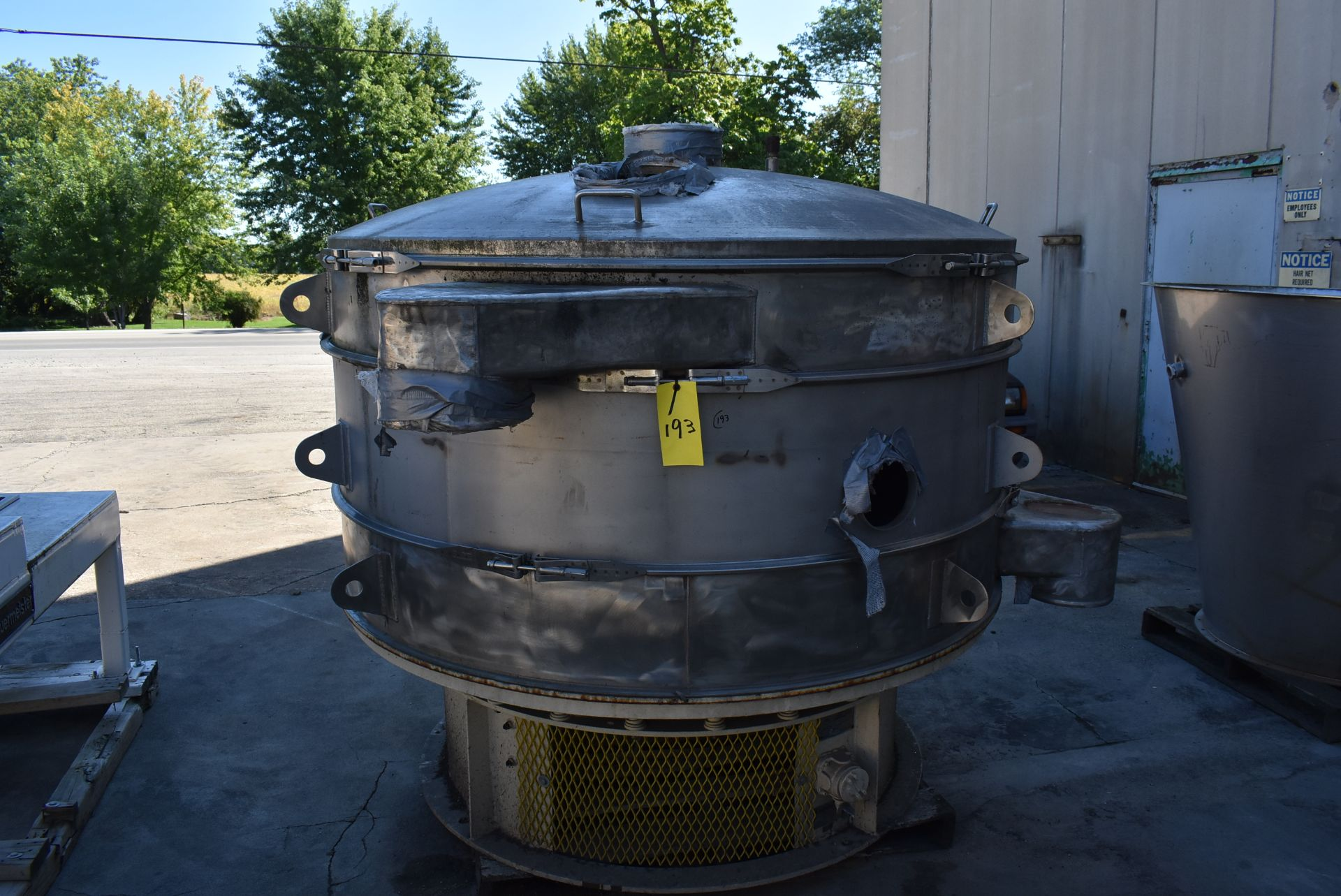 SWECO Model #US72S108 Vibratory Separator, SN 978-50