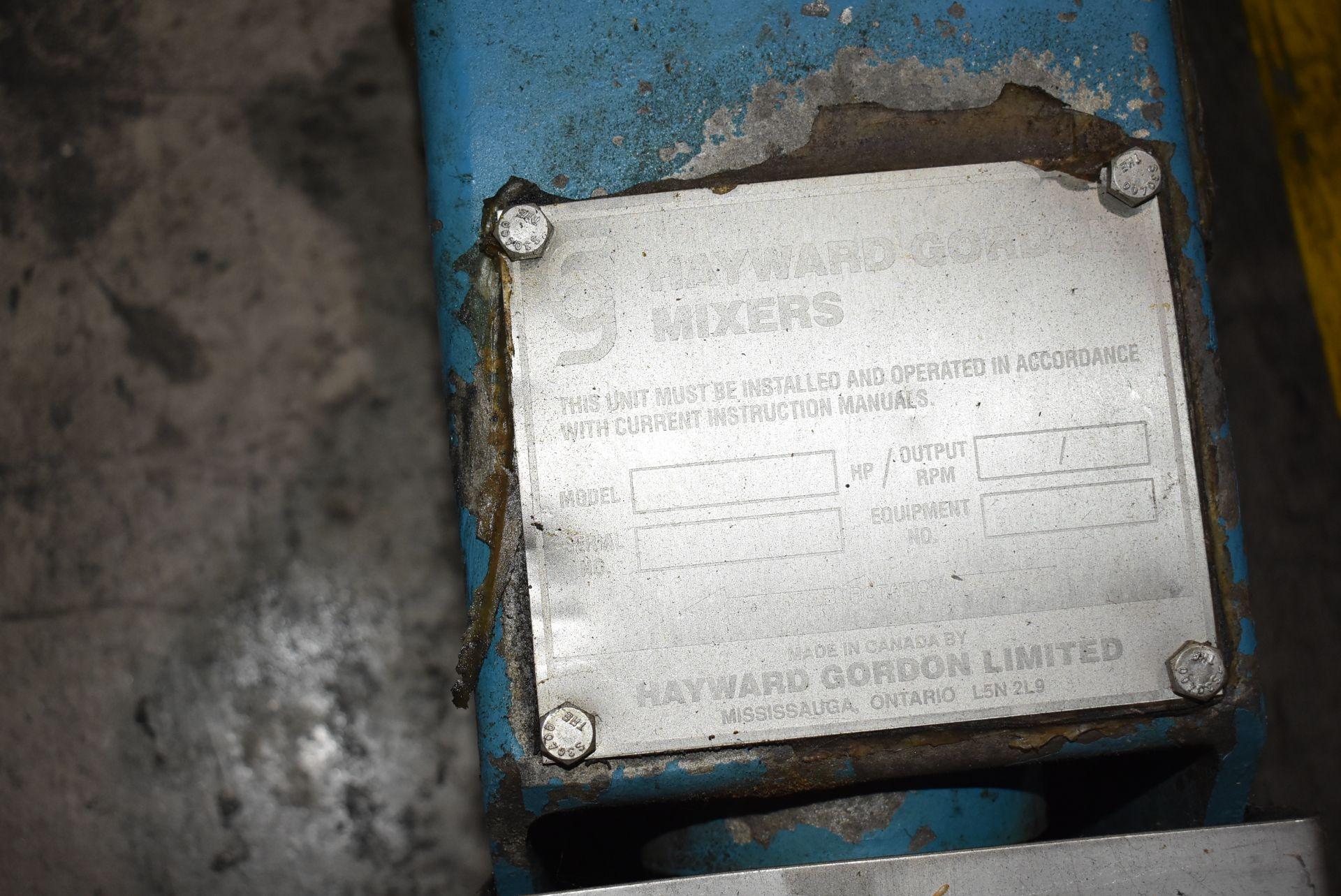 "Hayward Gordon Mixer, 60"" Length - Image 2 of 3"
