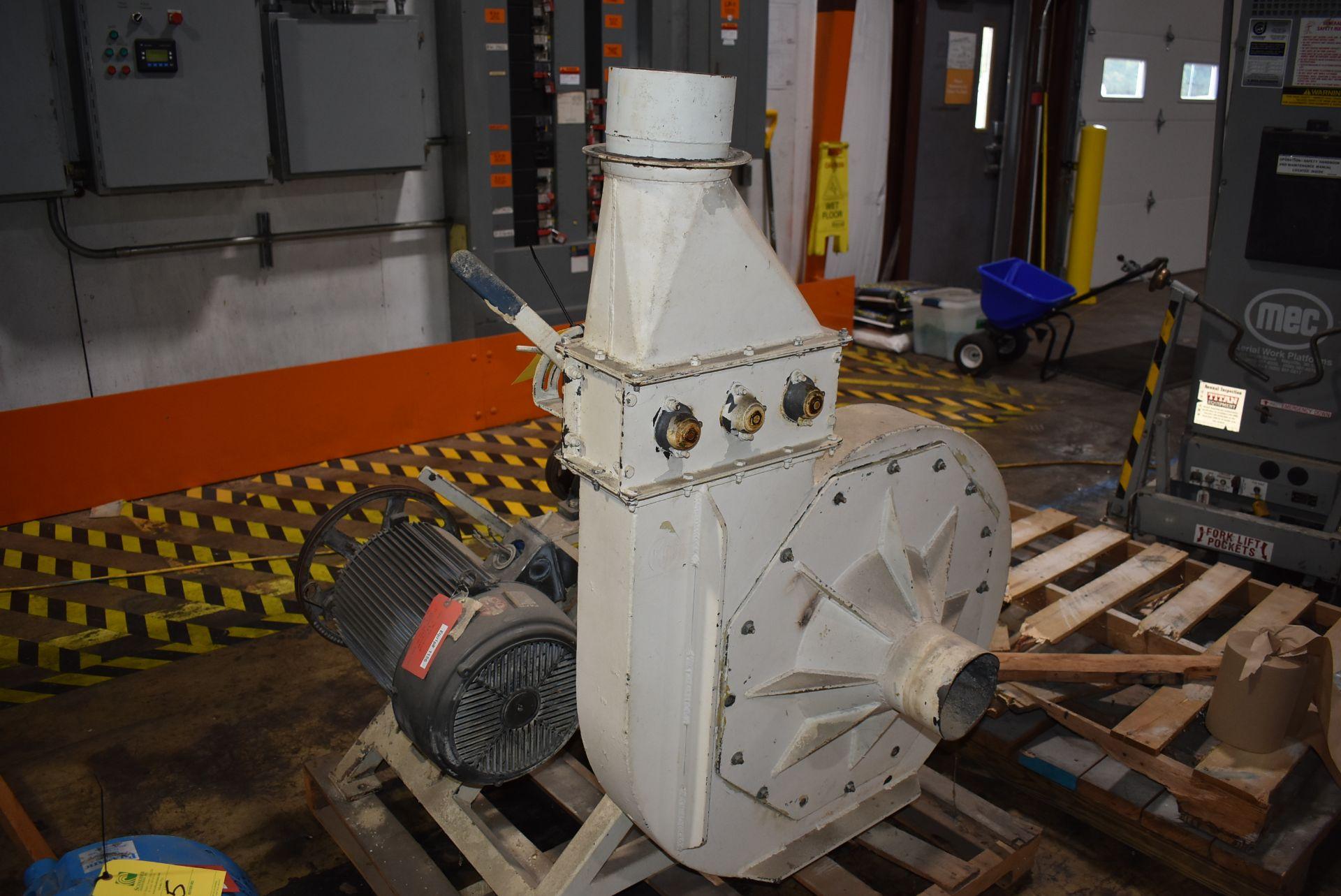 Kice Model #FC13W12-W8 Blower Unit, 15 HP Motor - Image 3 of 3