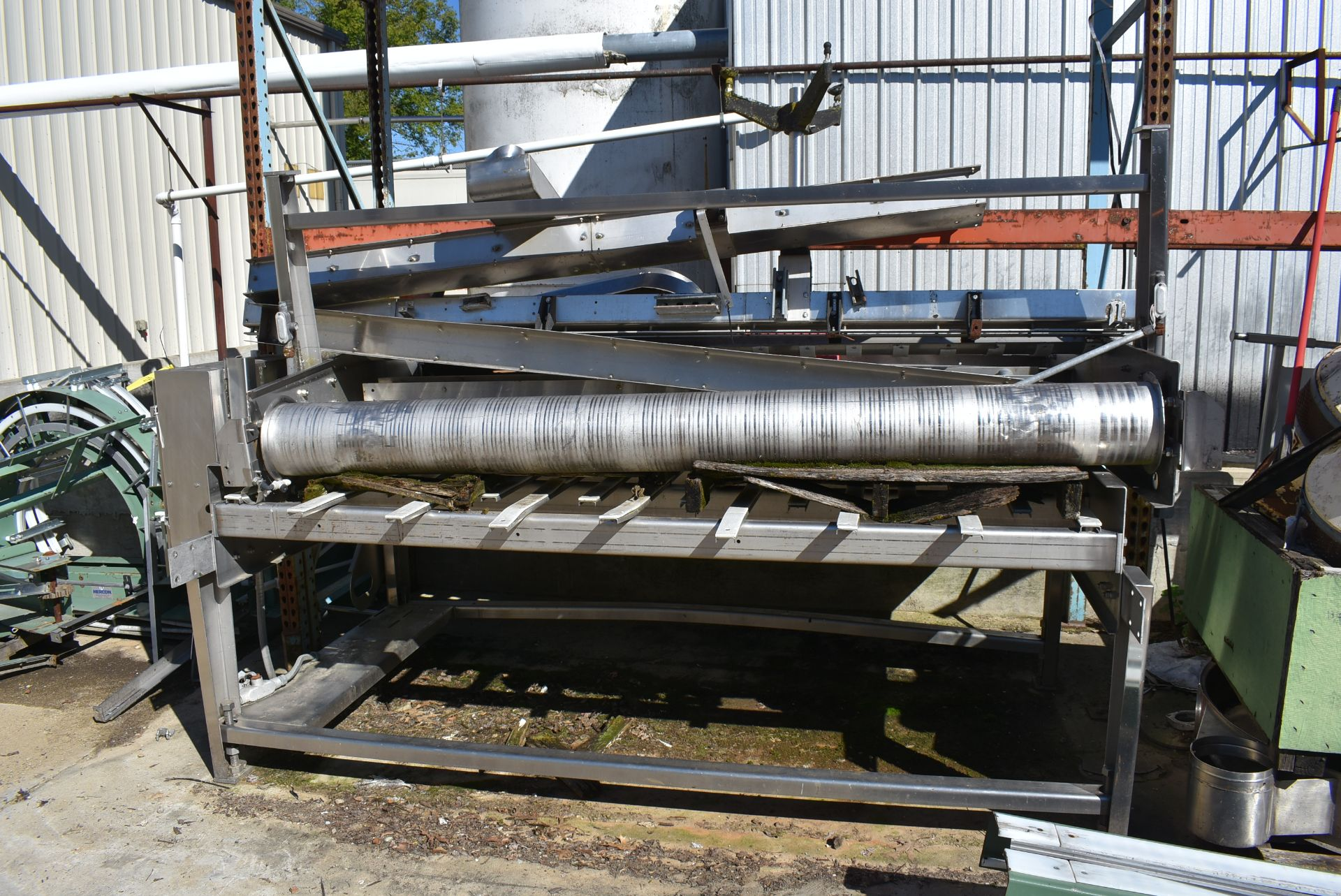 Stainless Steel Accumulation Table, 8' Length