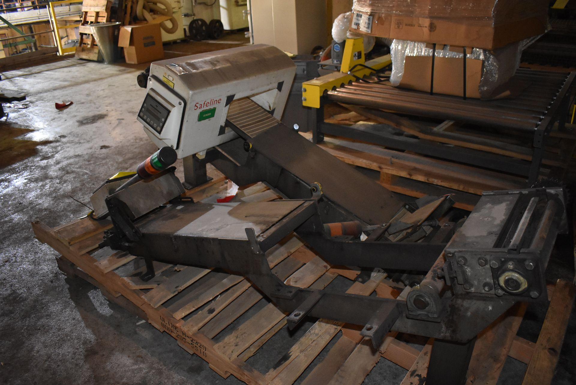 """Safeline Model #031-V2 Metal Detector, 13 1/2"""" x 6"""" Aperture, Includes Section of Conveyor - Image 3 of 4"""