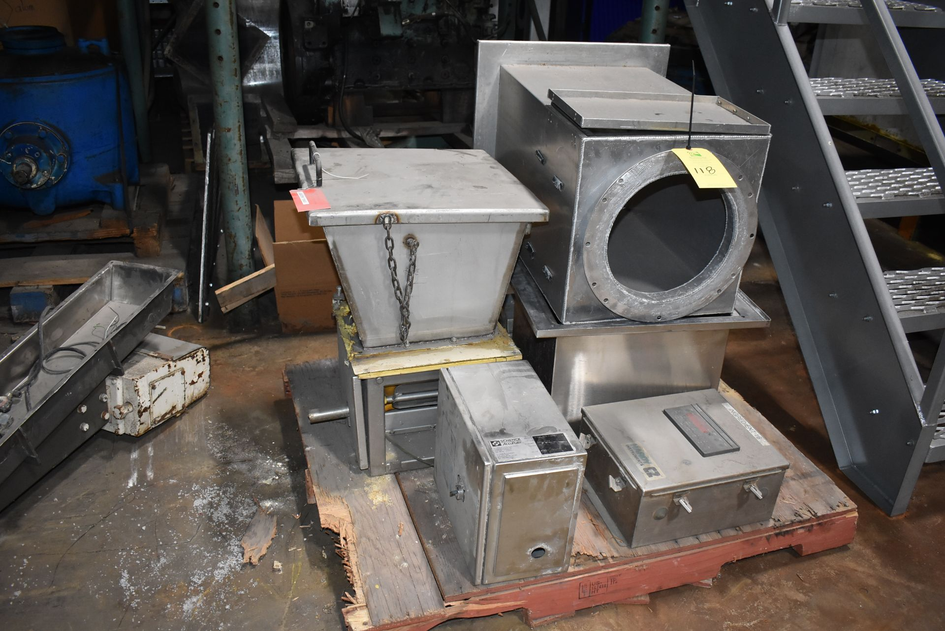 Schenck/Accrate Hopper, Feeder, and Hardy Instruments Control
