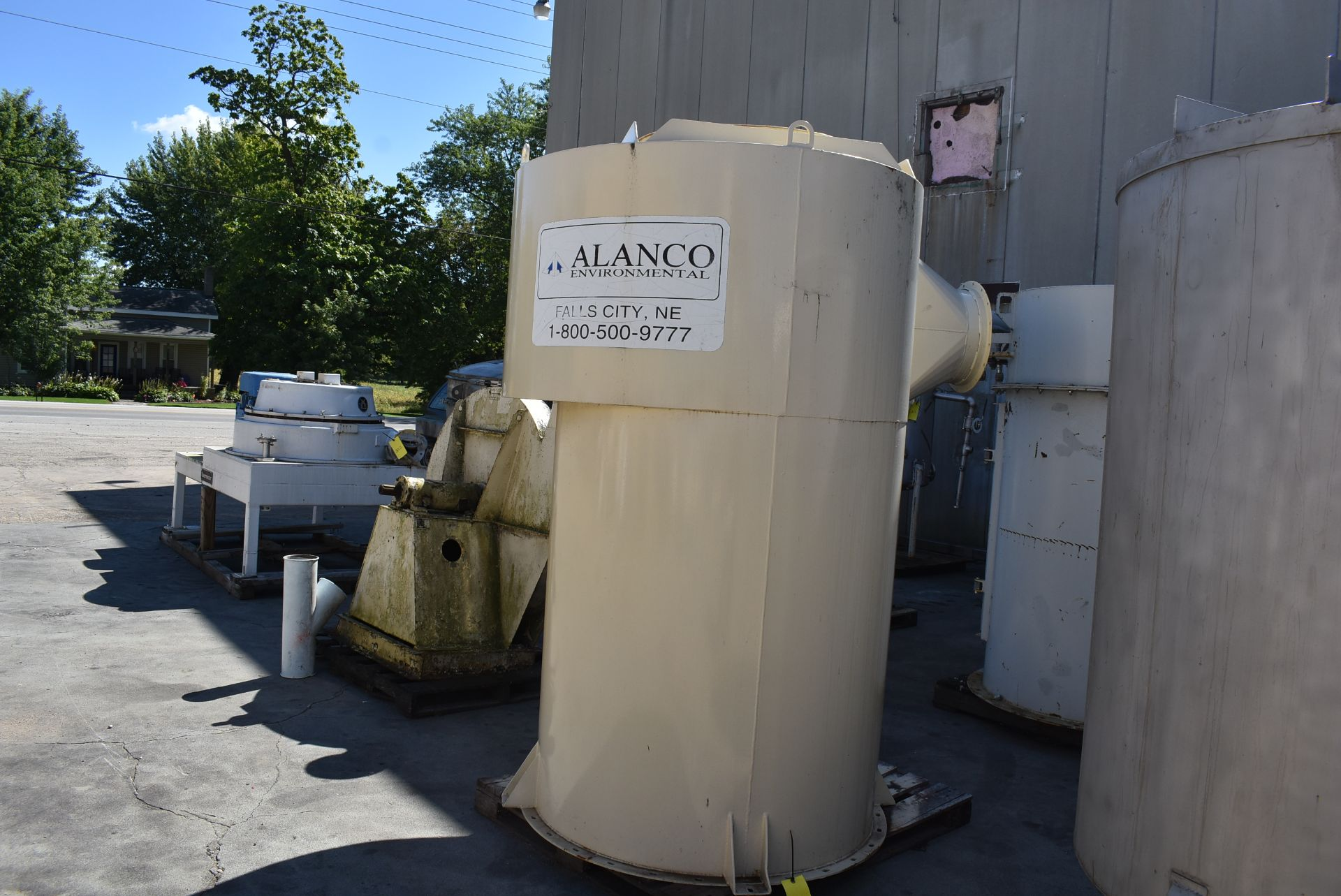 "Alanco Air Handling Unit, 48"" Diameter x 80"" Height - Image 2 of 2"