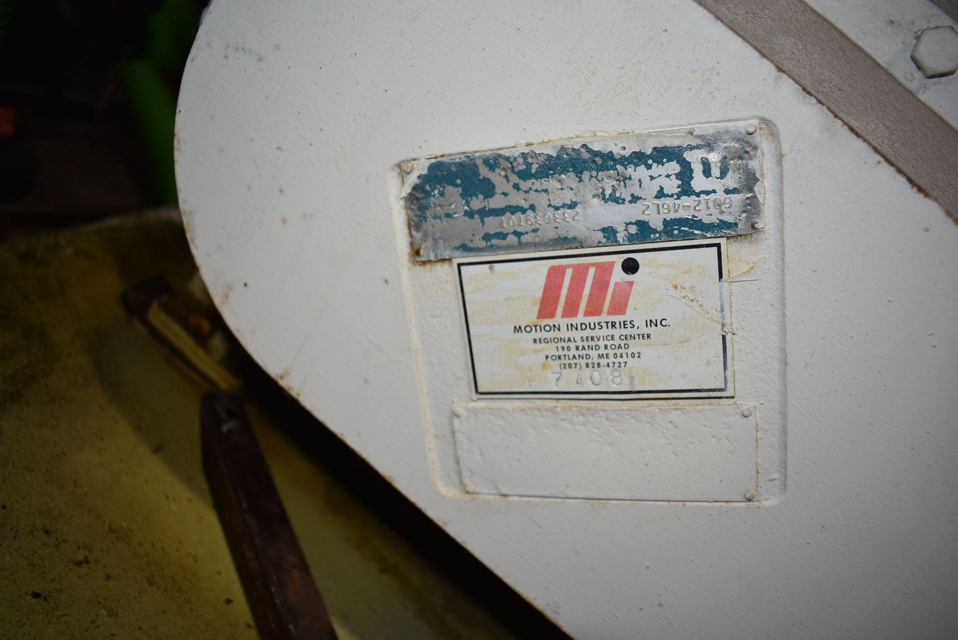 Motion Industries/Shick Tube-Veyor Blower Package w/100 HP Motor - Image 2 of 4