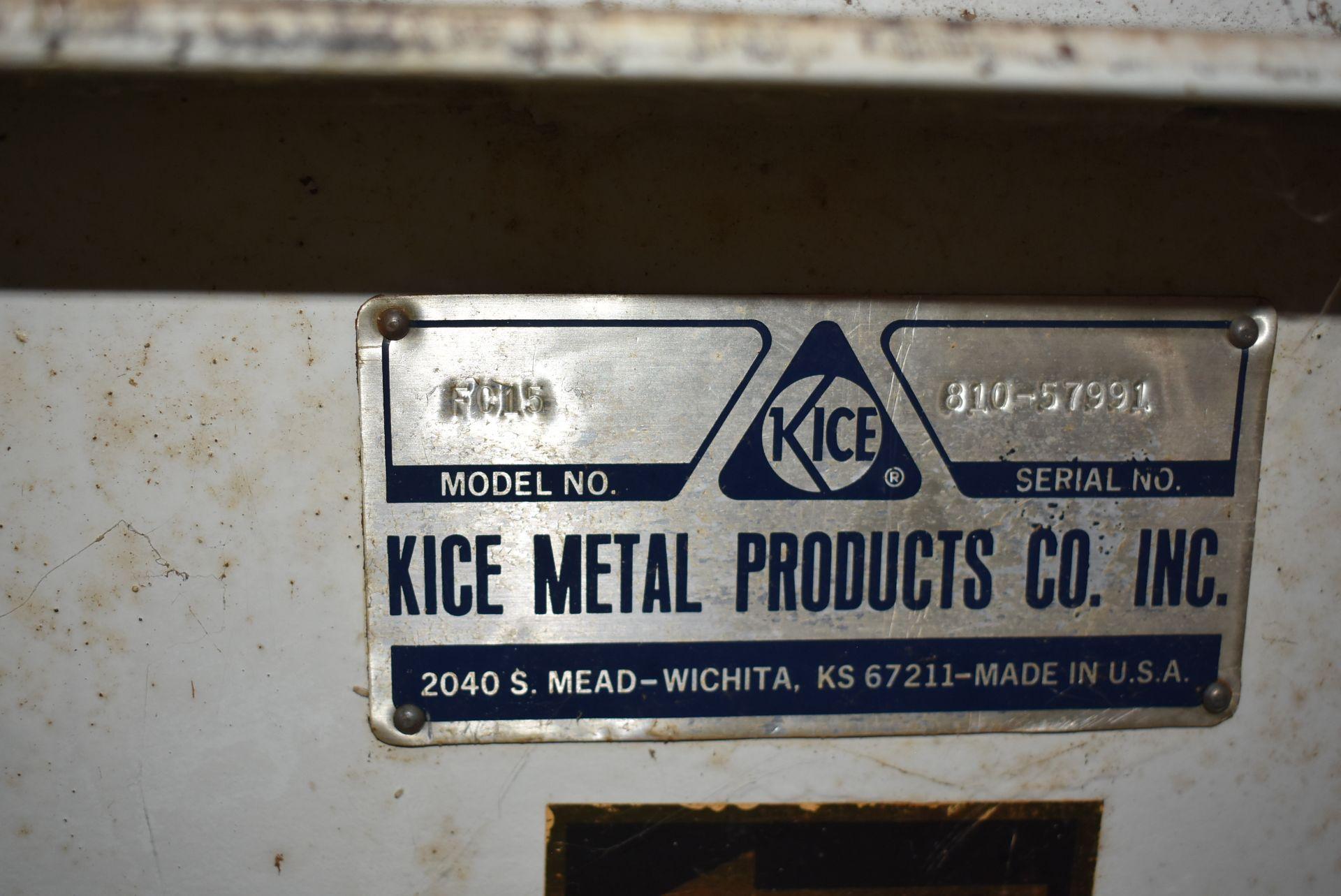 Kice Model #FCI5 Fan w/20 HP Motor - Image 2 of 3