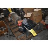 Skid - (7) Motors, Various Size, 3 HP - 10 HP