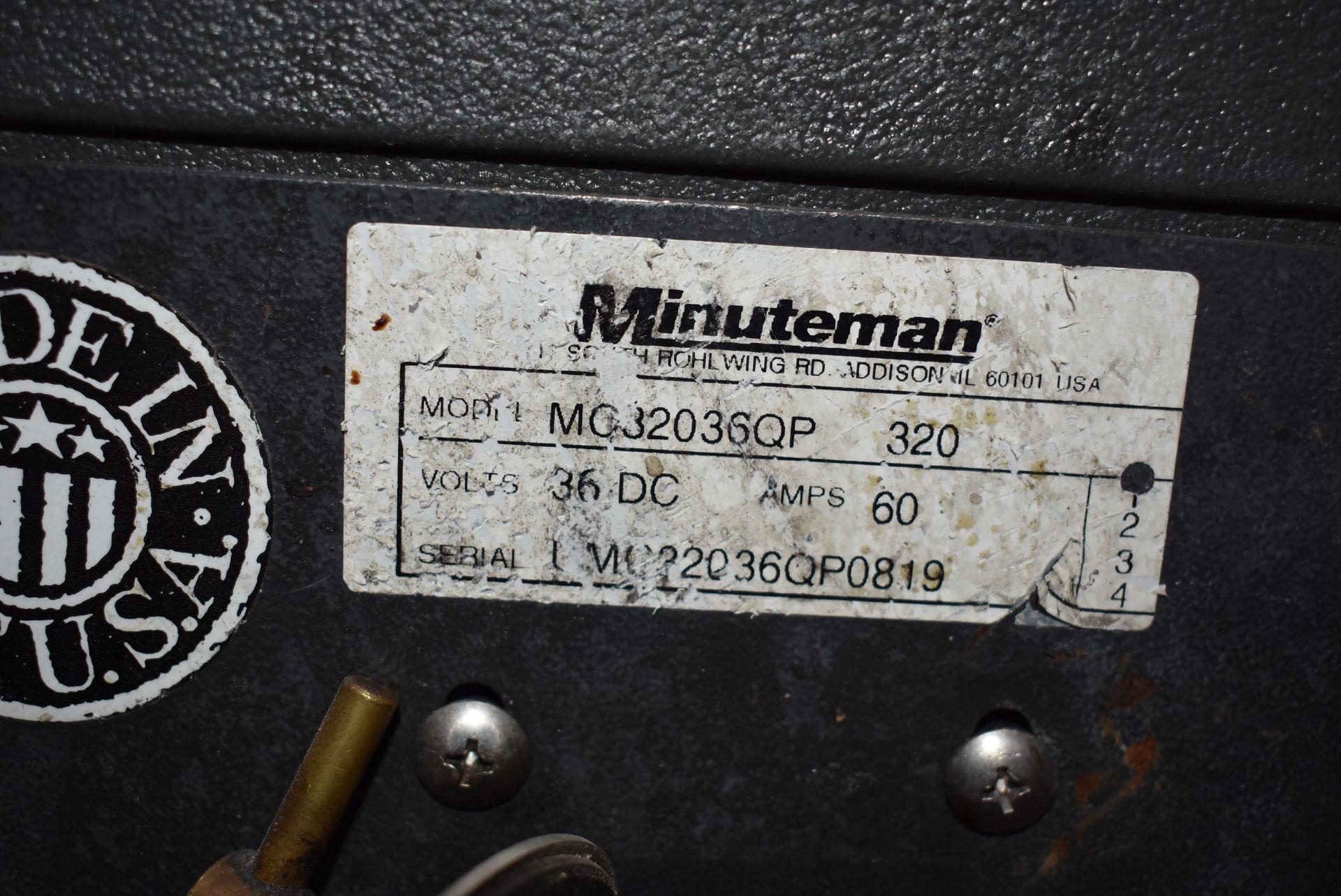 Minuteman Model #MG32036QP Electric Floor Scrubber - Image 2 of 3