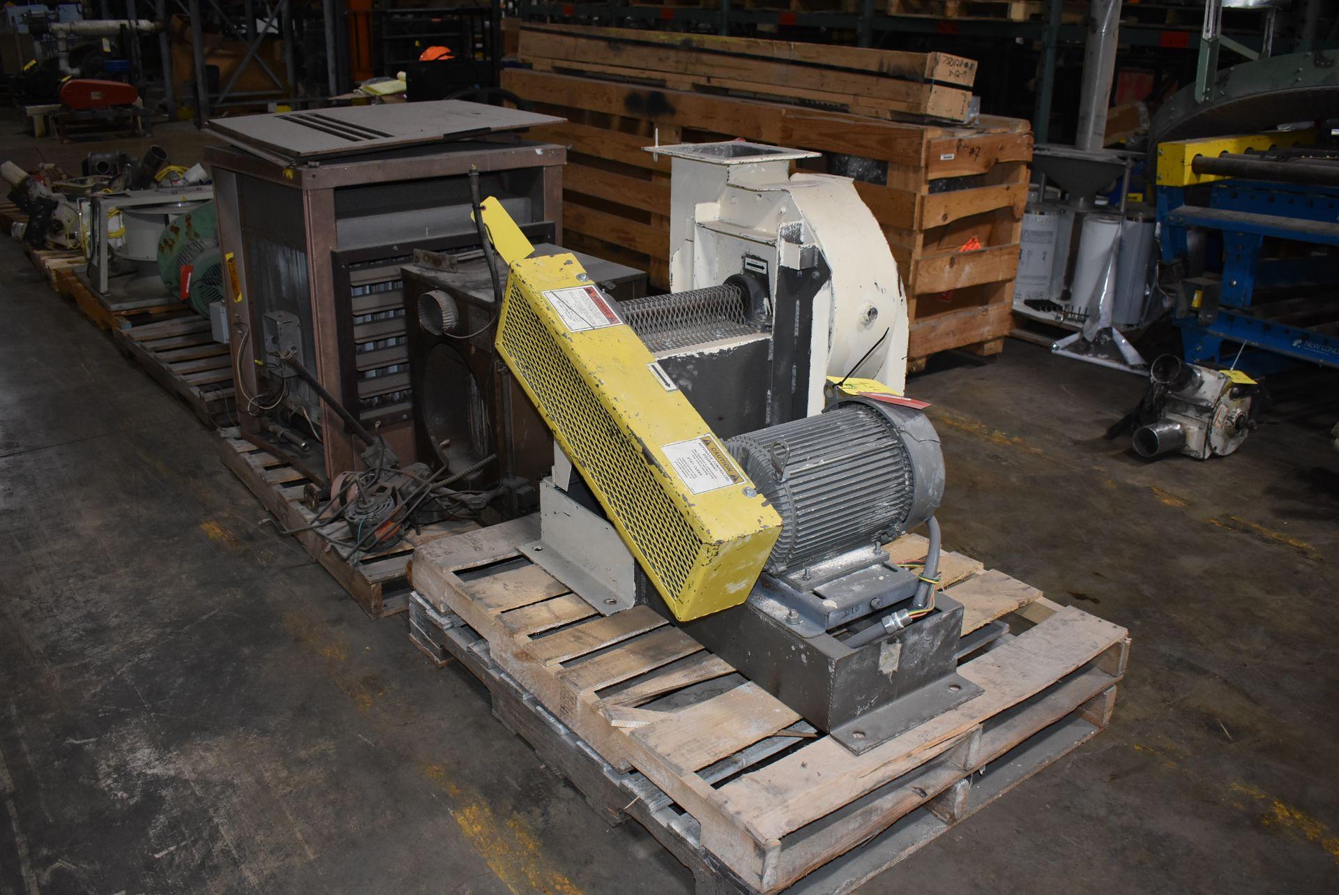 Mac #SB-6071 Fan/Blower w/ 7 1/2 HP Motor - Image 3 of 3