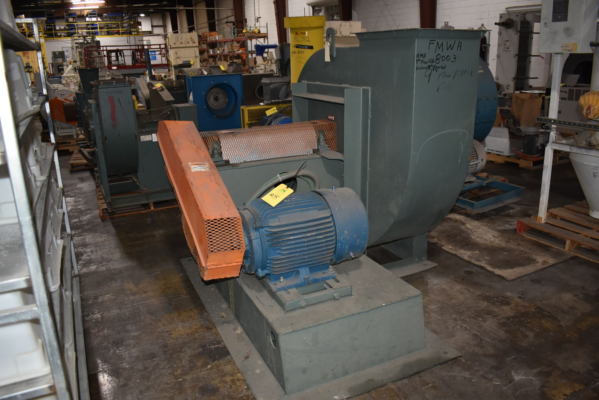 New York Blower, Size 364-DH w/40 HP Motor