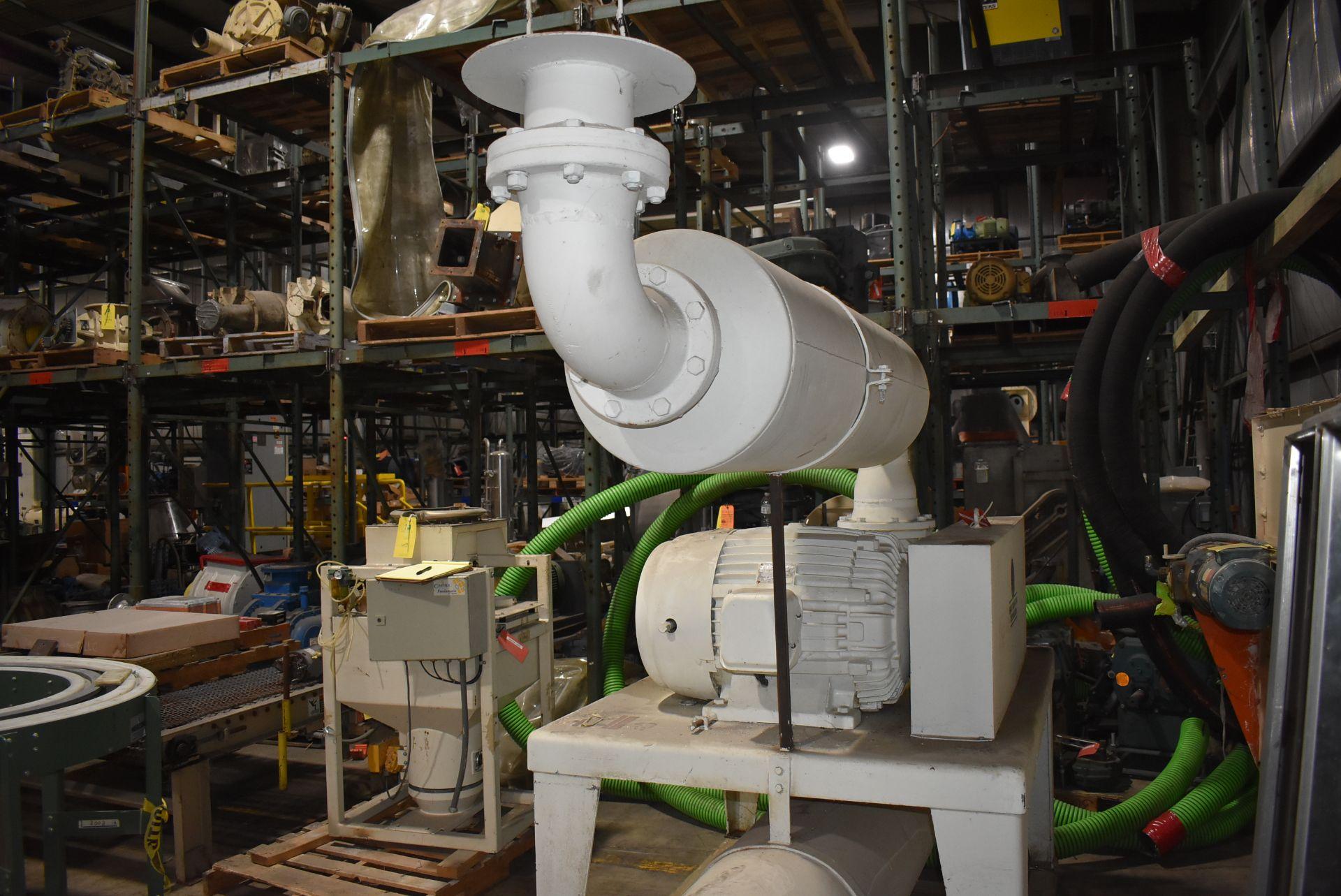 Motion Industries/Shick Tube-Veyor Blower Package w/100 HP Motor - Image 4 of 4